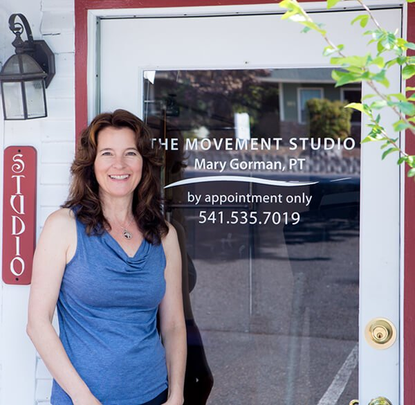 Contact Mary Gorman, Physical Therapist, at The Movement Studio