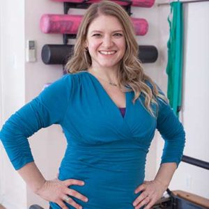 Jessica Monarch Pilates Instructer at The Movement Studio